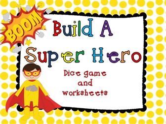 Build a Superhero Game