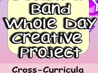 Mini-Project 11 Activities Design a New Band or Music Group. Cross-Curricula Engaging Challenging.