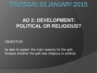 Lesson 2 Sunni and Shia Religious or Political
