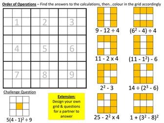 Colour Me Mathematics Sheets (1)