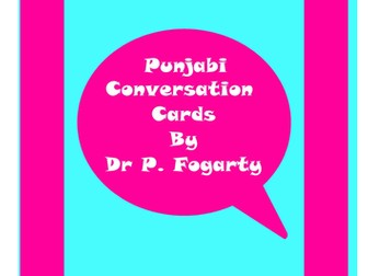 57 Punjabi Setting Cards For Conversation Practice