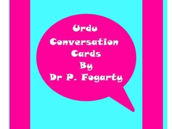 57 Urdu Setting Cards For Conversation Practice