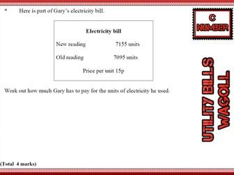 GCSE Mathematics Grade C Number revision cards