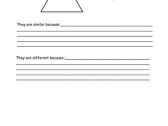 Comparing Two Triangles