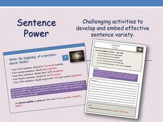 Sentence Power - Starter Activities