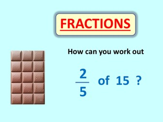 Find Fractions of Numbers