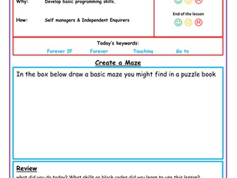 Scratch Lesson 4 - Creating a maze