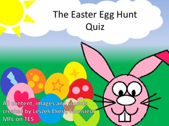 Easter Egg Hunt quiz plenary !!!!