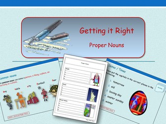 Getting It Right - Using Capitals for Proper Nouns