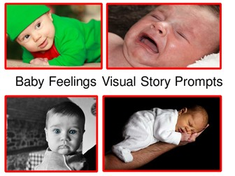 Baby Feelings Visual Story Prompts