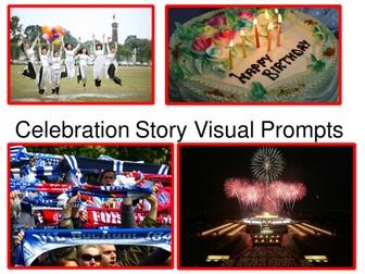 Celebration Story Visual Prompts