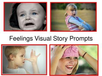 Feelings Visual Story Prompts