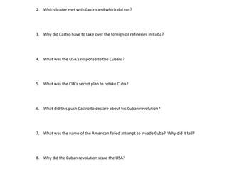CNN Cold War Documentary Series Episode 10. Cuba 1959-62