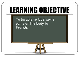 """easyMFL Year 3 French Unit 5 """"Parts of the body"""" SOL and Complete Resources"""