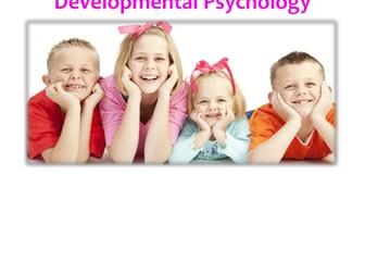 Developmental (Attachment) Psychology Revision Guide (AQA-A)