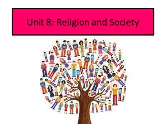Complete teaching resource for Edexcel GCSE Religion and Society