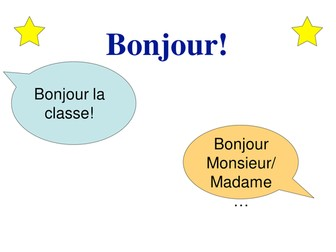 "easyMFL Year 6 French Unit 19 ""At school (À l'école)"" SOL and Complete Resources"