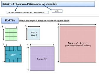 Pythagoras - 3D Pythagoras