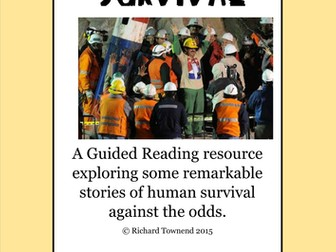 Guided Reading - Stories of Survival