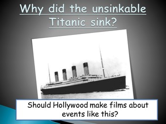 The Titanic Disaster - who was to blame?