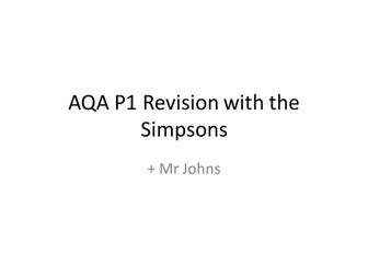 AQA P1 GCSE Revision (All Topics)