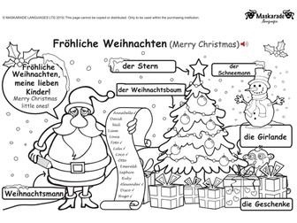 KS1 GERMAN: Level 1: Christmas & Easter