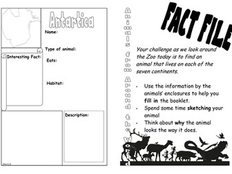 Zoo Animal Fact File