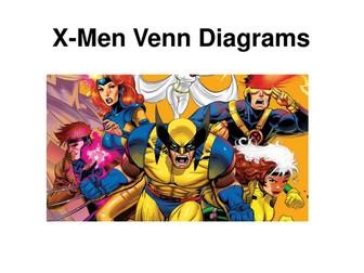 X-Men Venn Diagrams