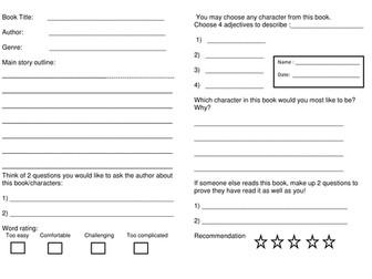 Book Review for KS 2 Children