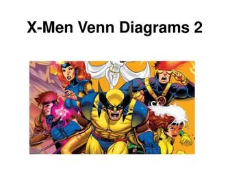 X-Men Venn Diagrams 2