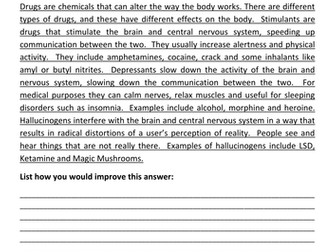65 AQA Biology 6 Mark Questions With Mark Schemes