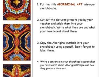 Aboriginal Art Year 7