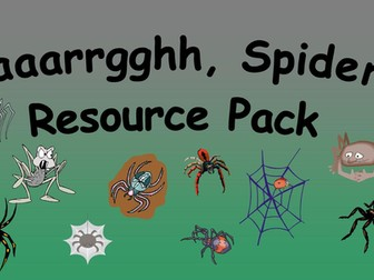 Aaaarrgghh, Spider! Resource Pack