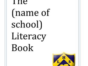 Whole School Literacy Book