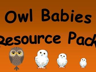Owl Babies Resource Pack