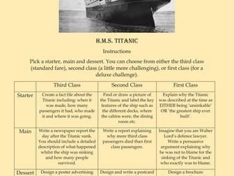 Titanic Takeaway Homework Project