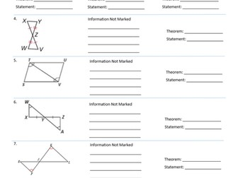 Printables Proving Triangles Similar Worksheet parallelogram worksheet advanced algebra by amyschander similarity and congruence unit proving triangles similarcongruent worksheet