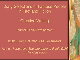 Creative Writing...Diary Of Famous People