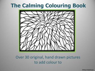 The Calming Mindfulness Colouring Book Updated for 2017-18