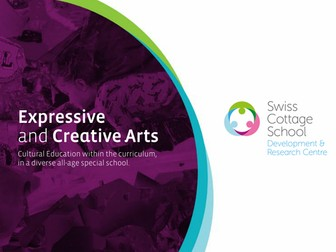 Arts and Creativity in the Curriculum in a Special School