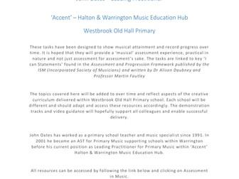 Assessment Tasks in Primary Music - John Oates