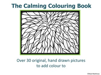 3 MINDFULNESS COLOURING BOOKS - For all ages