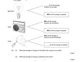 Energy Types - Questions and Answers