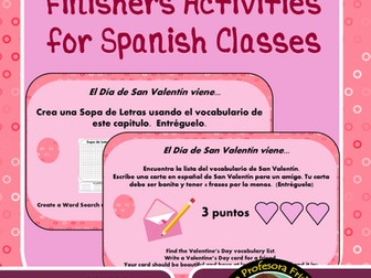 Spanish Fast Finishers for February