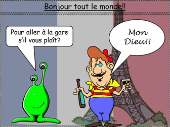 French: Directions in town