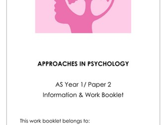 Approaches in Psychology