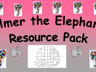 Elmer the Elephant Resource Pack