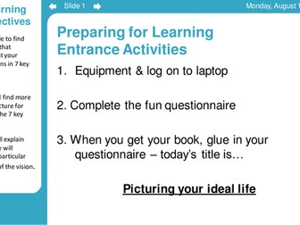 Careers / Options Prep for KS3-4 (3 lessons)
