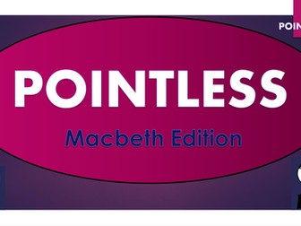 Pointless Game - Macbeth Edition