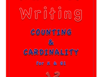 Number Writing - Counting & Cardinality for K & G1